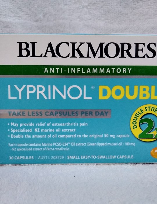 Blackmores Lyprinol Double