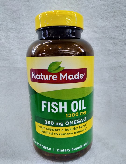 Dầu Cá Nature Made Fish Oil Omega 3